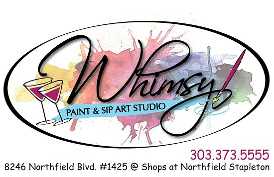 ‪Whimsy Paint and Sip Art Studio‬