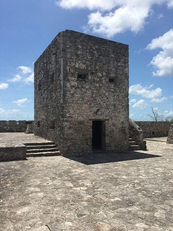 Bacalar, Μεξικό: The watch tower