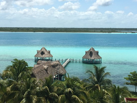 Bacalar, Μεξικό: View over the lake