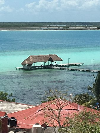Bacalar, Μεξικό: View to a Jetty