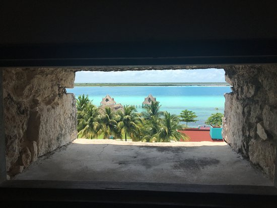 Bacalar, Μεξικό: View from the watch tower