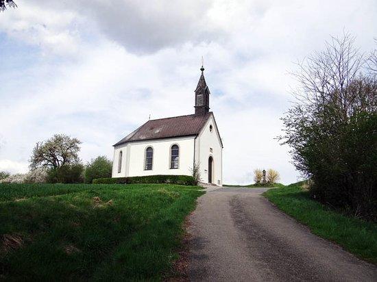 Kreuzweg zum Käppele: the chapel