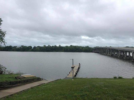 Port Royal, VA: view from dining room
