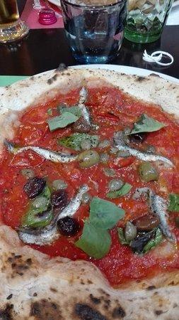 Crevalcore, อิตาลี: pizza siciliana