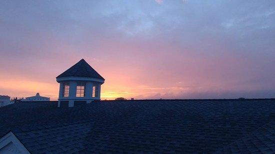 Heritage Inn: Rooftop deck