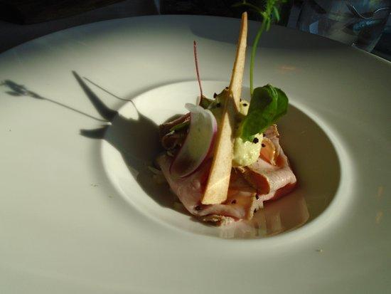 Restaurant Woods: Kalfsmuis