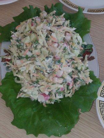 Khertvisi, Georgia: Вкусно и экологически чистые блюда