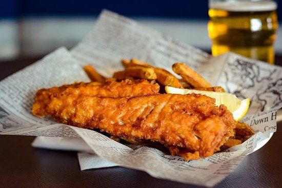 Erie Belle : fish and chips