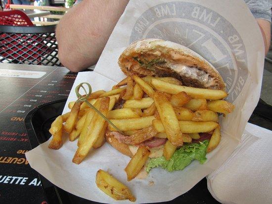 La Maison du Burger LMB : Burger.