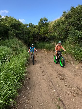 eBike St. Kitts: Off-road ride