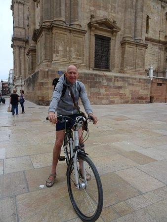 Segway Adventure Malaga: Vélo très confortable 7 vitesses