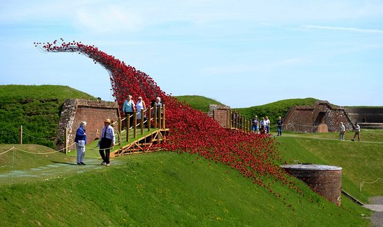 Royal Armouries - Fort Nelson: wave 1