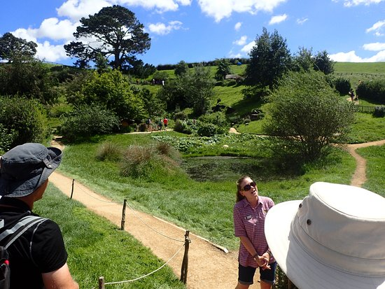 Hobbiton™ Movie Set 2-Hour Walking Tour from Shires Rest: Charlotte, our wonderful guide from Somerset, UK