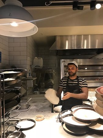 Chef At Trafford Centre Picture Of Pizza Express