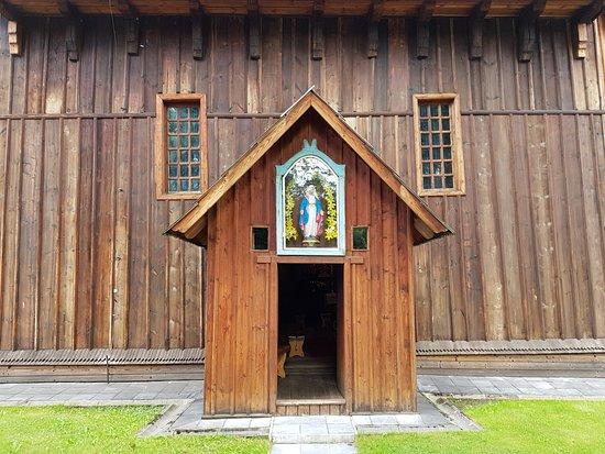 Koscioł pw. Narodzenia Najswietszej Marii Panny: boczne wejście