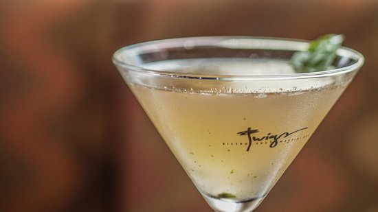 Twigs Bistro and Martini Bar: We proudly serve a premium well.