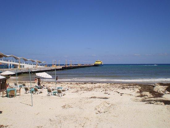 Platinum Yucatan Princess All Suites & Spa Resort: the beach at Playa del Carmen