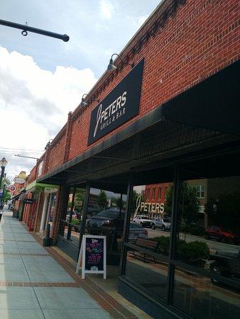 J Peters Bar Grill Fountain Inn Restaurant Reviews Phone