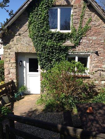 Wheddon Cross, UK: Front of cottage