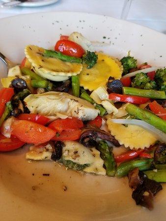 Bristol, NH: Vegetarian Ravioli