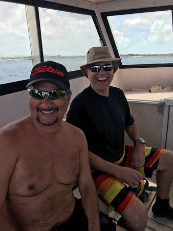 Flamingo Divers: Doug and Jim. New Friends and hopefully new dive buddies!