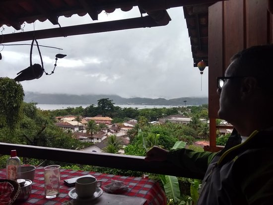 Pousada Morro do Forte: Salão do Café da Manhã do Hotel