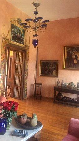 Hotel Casa del Aguila: Toda la tranquilidad de un Salon de Eventos de la Epoca Colonial.