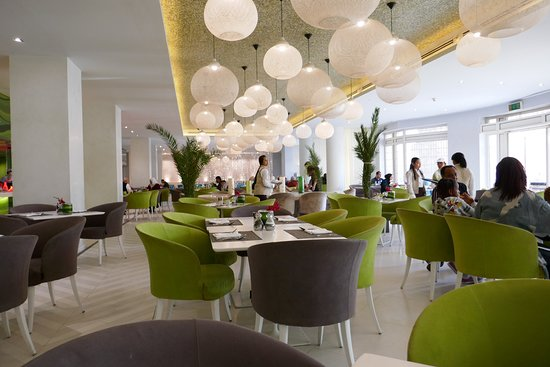 Movenpick Resort & Residences Aqaba: The breakfast restaurant