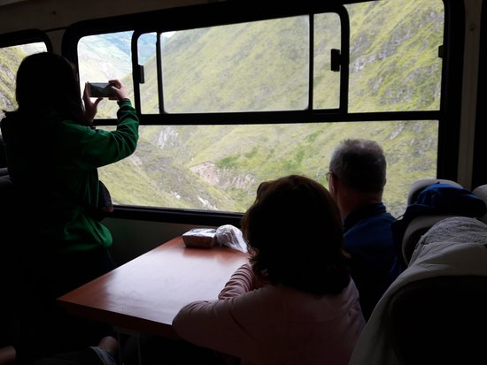 Devils Nose Train Ride from Alausi: the views