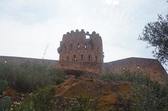 Castillo de Vilafames: Castillo Vilafamés (exterior)