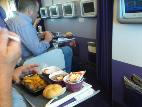 Thai Airways: Viel Beinfreiheit
