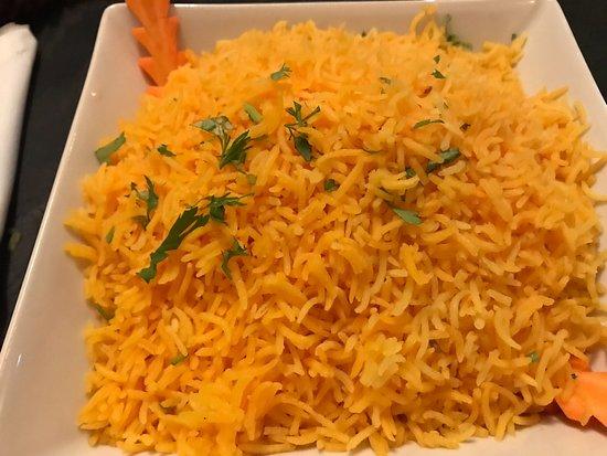 Bayleaf Indian and mediteranean restaurant: Rijst