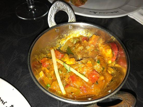 Bayleaf Indian and mediteranean restaurant: Hoofdschotel