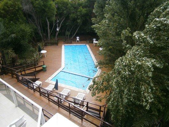 Las Gaviotas, Argentina: Desde el balcón del monoambiente 2º piso (unidad 5)