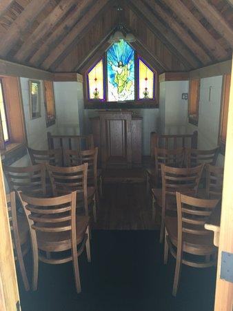 Townsend, GA: Interior of Church
