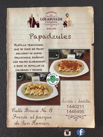 Los Abuelos Campeche: PAPADZULES