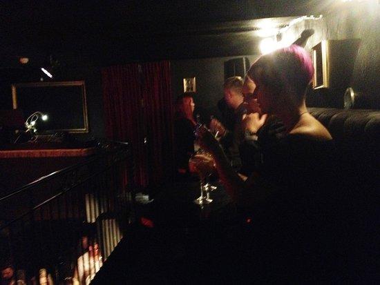 Melt Bar & Restaurang: underground balcony level