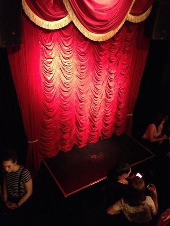 Melt Bar & Restaurang: hidden stage on bottom level