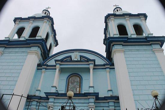 Celendin, Peru: Iglesia mayor de Celendín, Virgen del Carmen