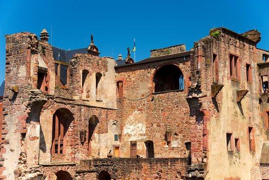 Château d'Heidelberg : Destroyed by War