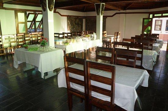 Itajuipe, BA: Restaurante/Café da manhã