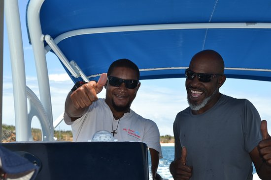 Best Of Full-Day Snorkeling and Beach Excursion with Hot Lunch: Capt Alain & First Mate Chris