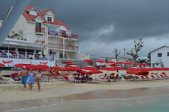 Best Of Full-Day Snorkeling and Beach Excursion with Hot Lunch: Rainbow Cafe, Grand Case