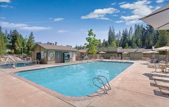 Bass Lake, Kalifornien: Pool
