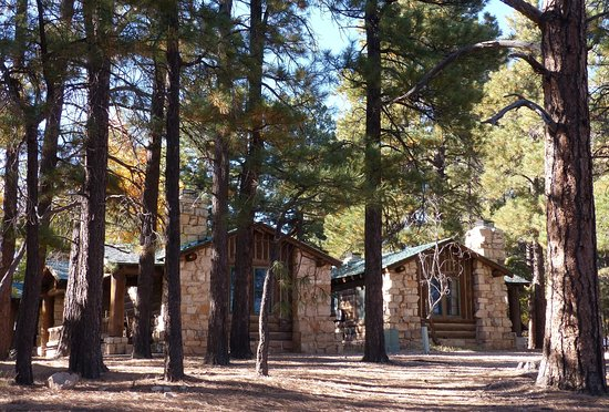 ‪‪Grand Canyon Lodge - North Rim‬: Western Cabin at Grand Canyon Lodge North Rim‬