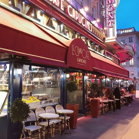 Le Grand Cafe Capucines, Paris - Opéra / Bourse - Restaurant Reviews ...