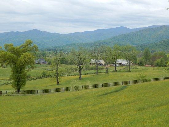 Washington, Вирджиния: view from deck
