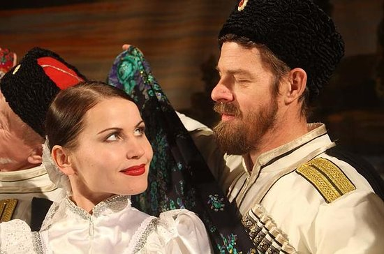 Russian Cossack folk show