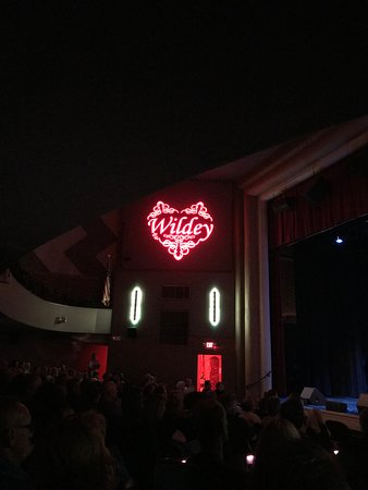 Wildey Theater: From Row H, Right Side