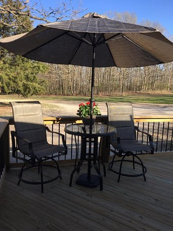 Gravois Mills, MO: Large deck wildlife views